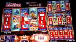 Epic Monopoly: Wild Reels And Multipliers (7 Videos)