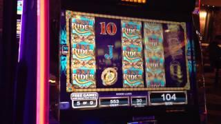 NEW GAME - Sky Rider Slot Machine 9 Free Games Bonus