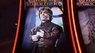 GAMES OF THRONES & A Quick BUFFALO GOLD Double Up!! ~ Live Slot Play @ San Manuel