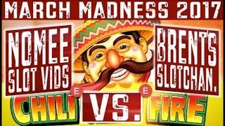 March Madness 2017 (EAST Coast Round #1)- Slot Machine Tournament - Bonus Win Videos