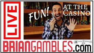 •LIVE - Slots with Brian Christopher • Celebrating 70,000 Subscribers! • San Manuel Casino #AD