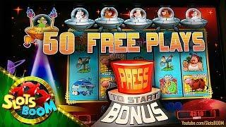 1st Touch: Invaders Return From Planet Moolah  NEW WMS Video Slot