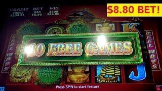 88 Fortunes Slot Machine $8.80 Max Bet *LIVE PLAY* Bonus!