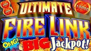 •HIGH LIMIT ULTIMATE FIRE LINK BY THE BAY HUGE HANDPAY •DOLLAR STORM NINJA MOON $50 BONUS •️