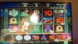 High Limit super hoot loot bonus round Big win! Slot machine