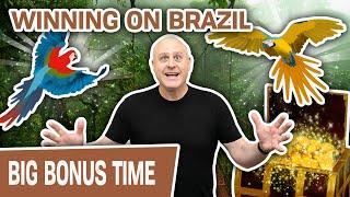 ⋆ Slots ⋆ WINNING on BRAZIL SLOTS ⋆ Slots ⋆ I'm BACK Playing One of My FAVORITE SLOT MACHINES