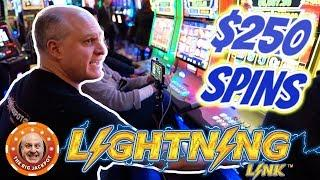 100 SPINS AT $250! •World's Greatest Slot Player •Lightning Link! | The Big Jackpot
