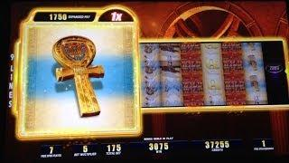 SPEED SPINS - Lady of Egypt slot machine Bonus with Major Jackpot Win!