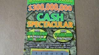 Cash Spectacular - $10 Illinois Instant Lottery Scratchcard Video