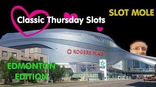 All WMS / Scientific Games - Edmonton Alberta - Classic Thursday Slots - Huge Wins with Slot Mole