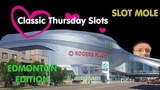 All WMS / Scientific Games - Edmonton Alberta - Classic Thursday Slots - Huge Wins with Slot Mole