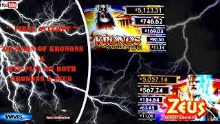 (First Attempt) WMS - Zeus Son of Kronos and Kronos Father of Zeus : Live Play