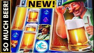 HUGE BEER WILDS! NEW! HEIDI'S BIERHAUS OKTOBERFEST SLOT MACHINE!!! THIS GAME IS SO MUCH FUN!