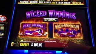 Wicked Winnings II & Wicked Winnings IV Slot Machine at Firekeepers
