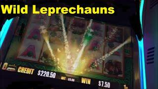Wild Leprechauns with Multiple Free Games Features