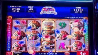 Konami- Quest for Riches slot line hit