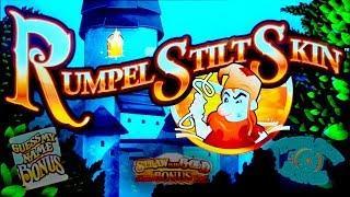 Rumpelstiltskin Slot - NICE SESSION, ALL FEATURES!