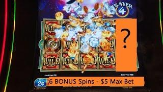 Dragons Spin Slot Machine Bonuses With Max Bet $5-Dragons Spin Slot's Longest Video On •YouTube•