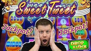 ⋆ Slots ⋆ One of My Best Jackpots Ever! ⋆ Slots ⋆ Sweet Tweet Drop & Lock Epic Bonus Win