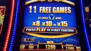 5 Dragons Grand Slot Machine Bonuses Win MAX BET !!!! 5 Dragons Slot Bonuses With $4 and $5 Bet