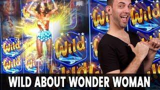 • Big WONDER WOMAN Win! • Biggest Bonus Ever!