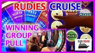 • Hour Long Group Slot Pull • RUDIES Cruise • Wiinnnnnnning Group Pull! • Brian Christopher Slots