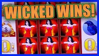 WINNING IS SO WICKED! • WONDER 4 JACKPOTS WICKED WINNINGS • WILD PANDA • BONUSES & LIVE PLAY