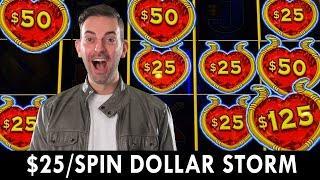 ★ Slots ★ $25/Spin on DOLLAR STORM ★ Slots ★HIGH LIMIT★ Slots ★ BONUS at Coushatta Casino #ad