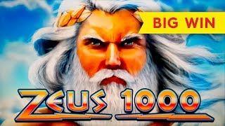 Zeus 1000 Slot - SHORT & SWEET - Big Win Bonus!