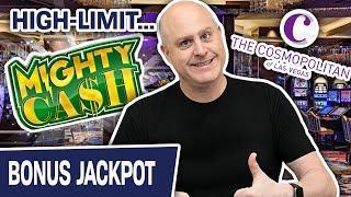 ⋆ Slots ⋆ Jackpot Handpay on MIGHTY CASH ⋆ Slots ⋆ High-Limit Slots @ The Cosmopolitan Las Vegas