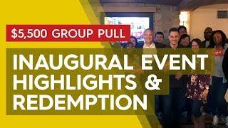 Inaugural Group Pull - Highlights & Redemption | November 16, 2019