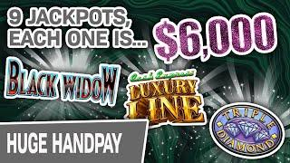 ⋆ Slots ⋆ $6,000 JACKPOTS! EVERY One I've EVER Hit! ⋆ Slots ⋆ From VEGAS to FOXWOODS, These Are INSANE