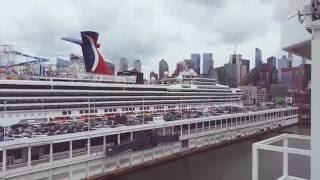 Carnival Sunshine 2016 - Manhattan Cruise Ship Terminal