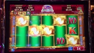 Myth Of Gold Bonus @ $1.20 Bet