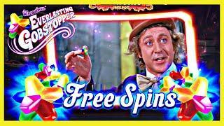 NEW Willy Wonka Everlasting Gobstopper SLOT Machine at San Manuel Casino