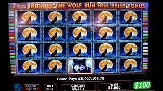 •$426,028.84 Slot Win! Vegas High Roller Casino Jackpot Handpay Aristocrat Wolf Run, Cleopatra 2 • S