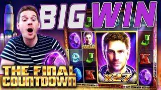 HUGE WIN on Final Countdown Slot - £2 Bet