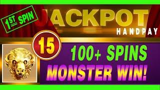 ⋆ Slots ⋆EPIC JACKPOT HANDPAY ⋆ Slots ⋆ 1st SPIN MONSTER WIN!!15 HEADS (DAY ONE - FEAT. 7 DAYS OF JA