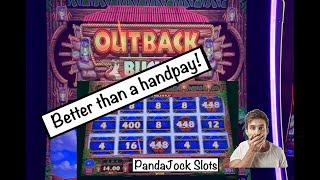BETTER THAN A HANDPAY‼️ A truly amazing run on Mighty Cash, Outback Bucks!
