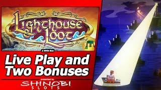 Lighthouse Loot Slot - Throwback Thursday Live Play and Bonuses
