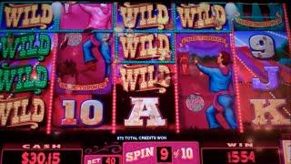 Marvels of Mystery Slot Machine Bonus - 10 Free Spins Win with Stacked Wilds & Wild Save