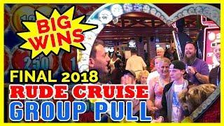 The Group Slot Pull Experience • $25/SPIN • Rudies Cruise FAREWELL!l • Brian Christopher Slots