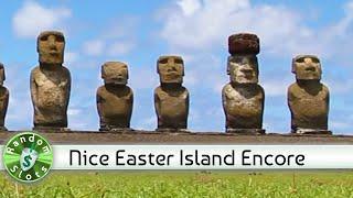 Easter Island slot machine, Nice Encore Win
