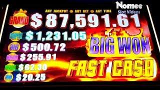 •BIG JACKPOT!• FAST CASH Slot Machine - Timber Wolf and Buffalo Deluxe
