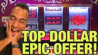 ⋆ Slots ⋆Double Top Dollar JACKPOT HANDPAY!!   $10 Bets on Stinkin' Rich! ⋆ Slots ⋆ ⋆ Slots ⋆ ⋆ Slot