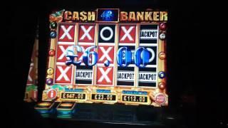 Mega Row Series £500 VS Cash Banker Feat Real Time Jackpot Part 3 (Home Machine)