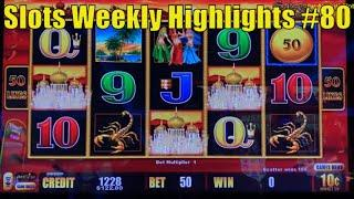 Slots Weekly Highlights #80 For you who are busy• Lightning Link - High Limit Slot 赤富士スロット, カリフォルニア