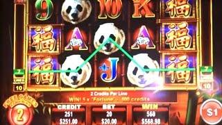 $20 HIGH LIMIT PANDA KING FREE GAMES & JACKPOT HANDPAY