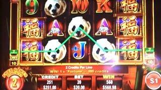 $20 HIGH LIMIT PANDA KING FREE GAMES & JACKPOT HANDPAY
