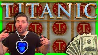 THE BEST WINS ON YOUTUBE on Titanic Slot Machine •TOO MUCH WINNING • W/ SDGuy1234